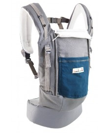 JPMBB - PhysioCarrier Tablier Elephant/poche Bleu paon