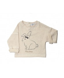 Les Petites Choses - Sweat Louisa Cream Lapin