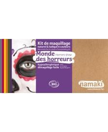 Namaki - Kit 8 couleurs Mondes des horreurs BIO