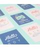 "LoéYou - Carte postale ""Hello Boy"""
